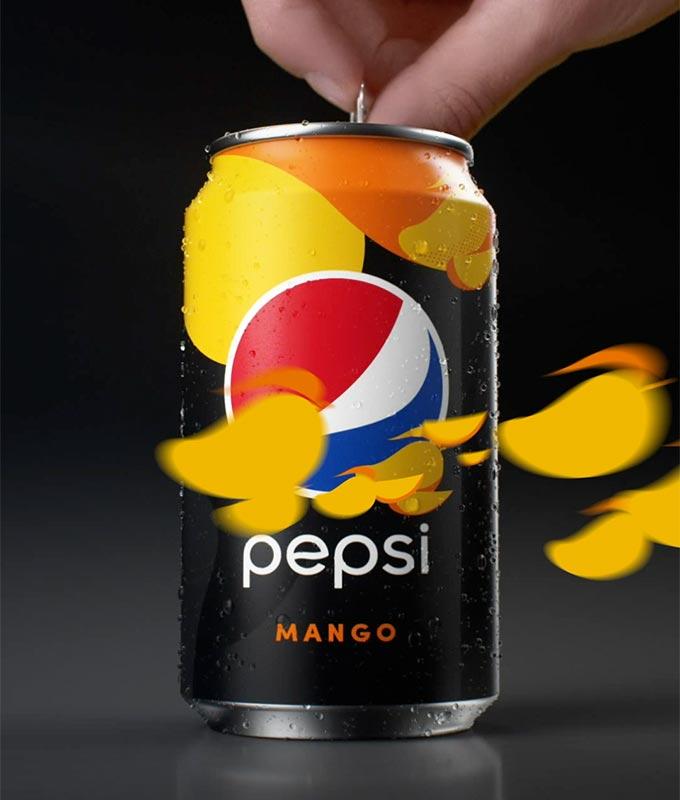Pepsi<br>flavors