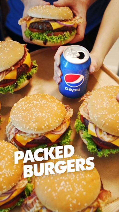 Pepsi<br>with<br>meals